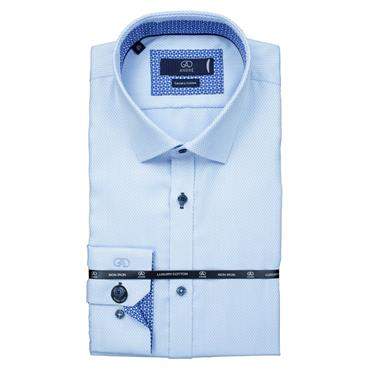 ANDRE CAMBRIDGE SHIRT - BLUE