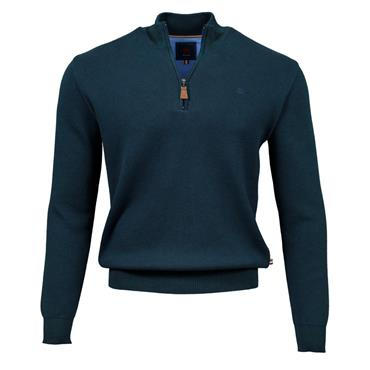 ANDRE CLIFDEN 1/2 ZIP KNIT - FOREST