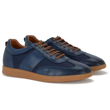 BENETTI COLE CASUAL TRAINER - NAVY
