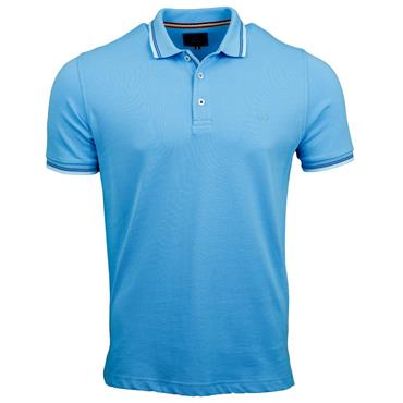 ANDRE DINGLE POLO SHIRT - BLUE