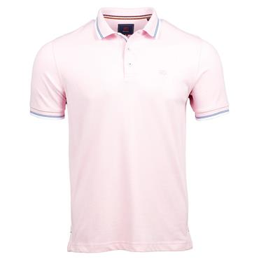 ANDRE DINGLE POLO SHIRT - PINK