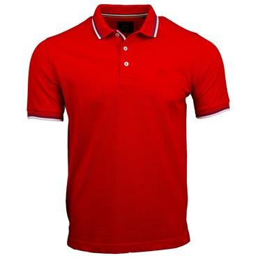 ANDRE DINGLE POLO SHIRT - RED