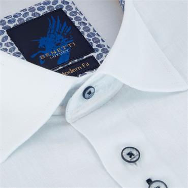 BENETTI GARETH MODERN SHIRT - WHITE