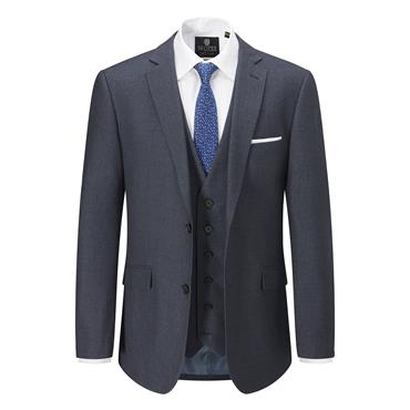 SKOPES HARCOURT TAILORED FIT SUIT - BLUE