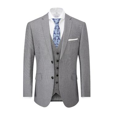SKOPES HARCOURT TAILORED FIT SUIT - SILVER