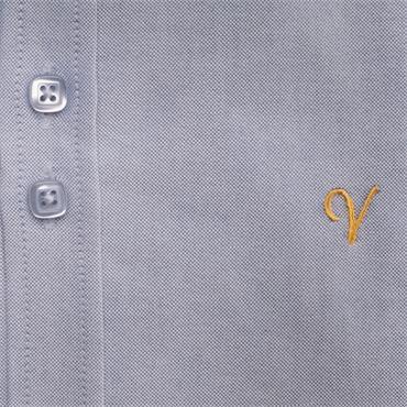 VICHI JIM SLIM OXFORD SHIRT - BLUE