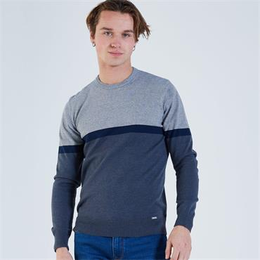 DIESEL MICHAEL CREW KNECK KNIT - GREY