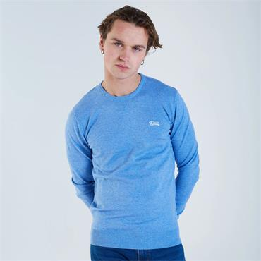DIESEL DALE ROUND NECK KNIT - BLUE