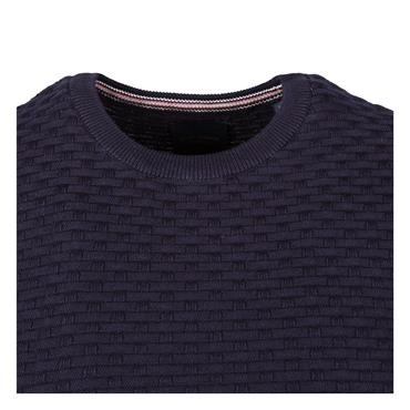 GUIDE LONDON CREW NECK KNIT - NAVY
