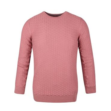 GUIDE LONDON CREW NECK KNIT - PINK