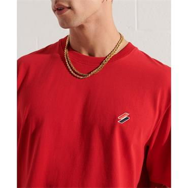 SUPERDRY ESSENTIAL T-SHIRT - RED