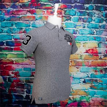 SUPERDRY SUPERSTATE POLO - GREY