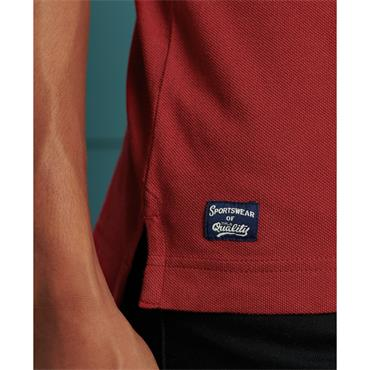SUPERDRY SUPERSTATE POLO - RED