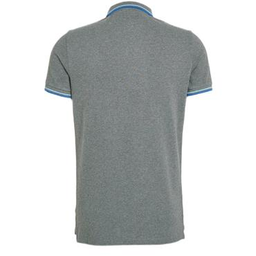 SUPERDRY TIPPED POLO SHIRT - GREY