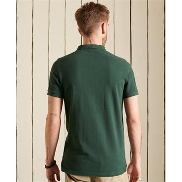 SUPERDRY SUPERSTATE POLO SHIRT - GREEN