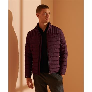 SUPERDRY ULTIMATE CORE DOWN - BURGUNDY