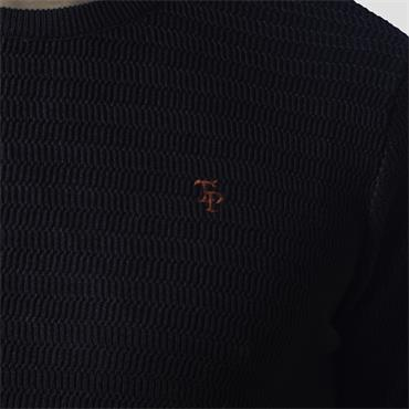TOM PENN MCHUGH CREW NECK - NAVY
