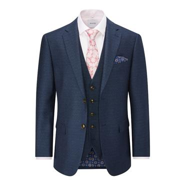 SKOPES SANTINI TAILORED FIT SUIT - NAVY
