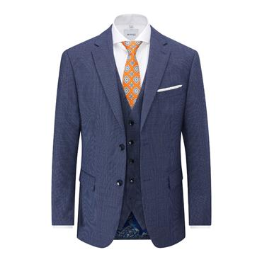 SKOPES PIETRO TAILORED FIT SUIT - BLUE