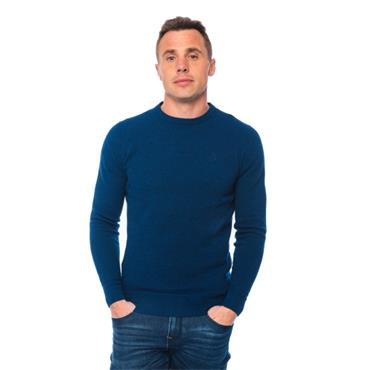 XV KINGS NORFOLK KNIT JUMPER - BLUE