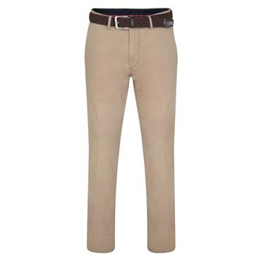 MAGEE DUNGLOE CLASSIC FIT CASUAL TROUSER - BEIGE