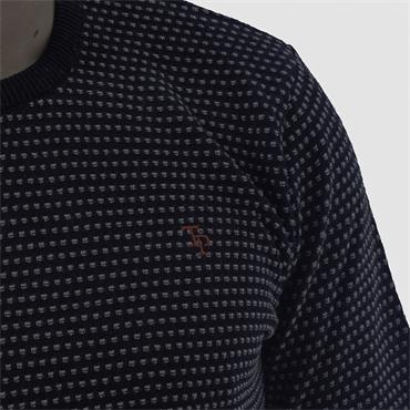 TOM PENN ONEILL CREW NECK - NAVY