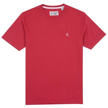 PENGUIN PIN POINT T-SHIRT - RED