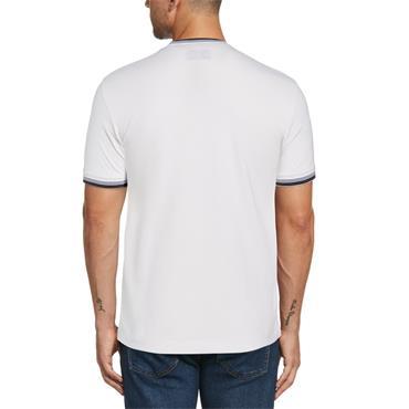 PENGUIN RINGER T-SHIRT - WHITE