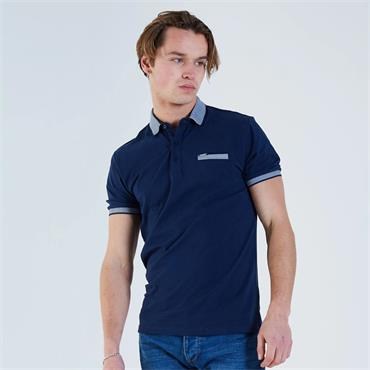 DIESEL HANNO POLO SHIRT - NAVY