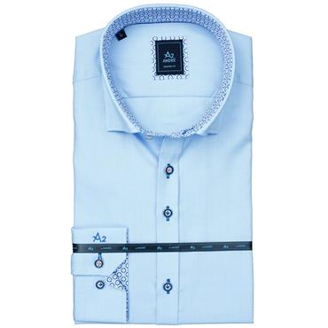 ANDRE PARMA LONG SLEEVE SHIRT - BLUE
