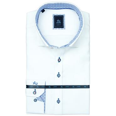 ANDRE PARMA LONG SLEEVE SHIRT - WHITE