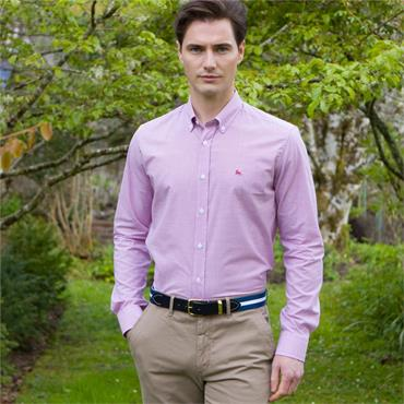 MAGEE RAROOEY TAILORED BUTTON DOWN SHIRT - PINK