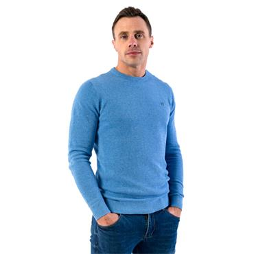 XV KINGS TOMMY BOWE SUSSEX CREW KNIT - SKY