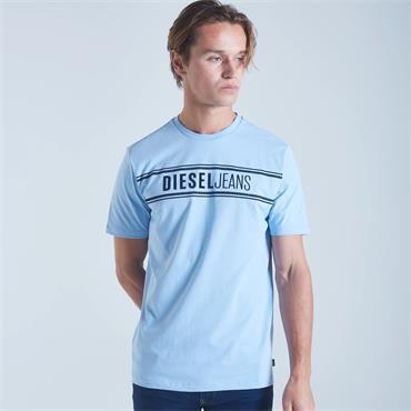 DIESEL HARLEY T-SHIRT - BLUE