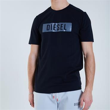 DIESEL LOGAN T-SHIRT - BLACK