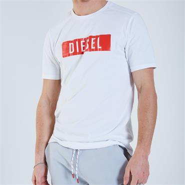 DIESEL LOGAN T-SHIRT - WHITE