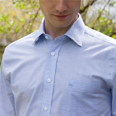 MAGEE TULLAGH CLASSIC POCKET SHIRT - BLUE