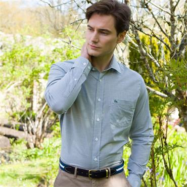 MAGEE TULLAGH CLASSIC POCKET SHIRT - GREEN