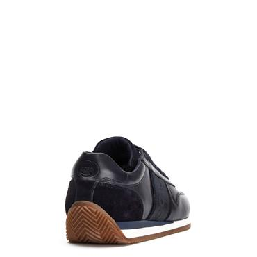 BASE LONDON CASUAL SALSA TRAINER - NAVY