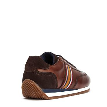 BASE LONDON CASUAL MAYO TRAINER - BROWN