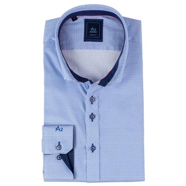 ANDRE VIENNA LONG SLEEVE SHIRT - BLUE