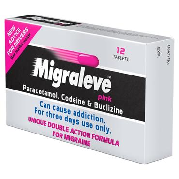 Migraleve Pink Migraine Tablets 12 Pack
