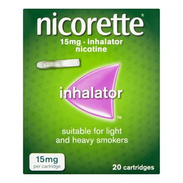 Nicorette Inhaler Cartridges 20s