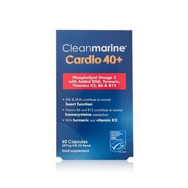Cleanmarine Cardio 40+ 60 Capsules