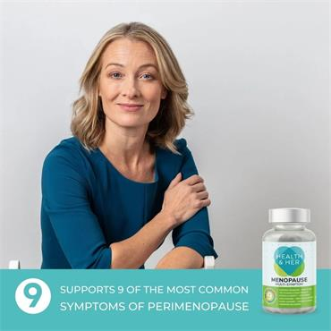 Health & Her Menopause Supplement 60 Capsules