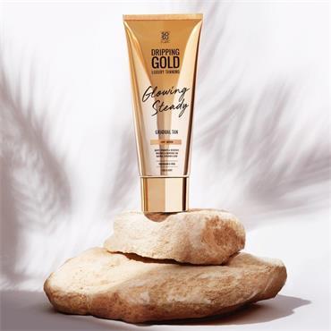 SOSU by Suzanne Jackson Dripping Gold Glowing Steady Gradual Tan