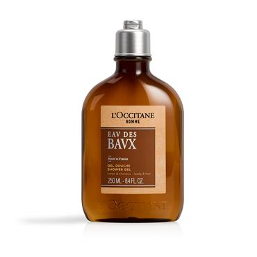 L'Occitane L'Homme Eau Des Bavx Hair & Body Wash 250ml