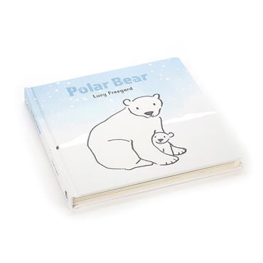 Jellycat Bashful Polar Bear Book