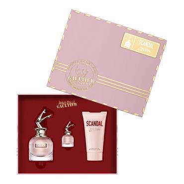 Jean Paul Gaultier Scandal 50ml Eau de Parfum + 75ml Body Lotion + Miniature Gift Set