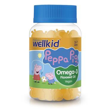 Vitabiotics Wellkid Peppa Pig Omega-3 30 Soft Jellies